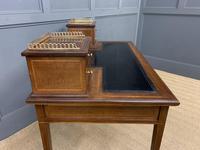 Edwards & Roberts Inlaid Mahogany Writing Desk (14 of 20)
