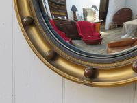 Butlers Porthole Fish Eye Convex Wall Mirror (3 of 8)