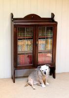 Oak Glazed Bookcase (7 of 10)