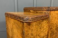 Large Burr Walnut Cocktail Cabinet (7 of 17)