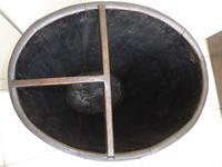 Edwardian Walking Stick Cane Umbrella Stand Coopered Oak Barrel (10 of 14)
