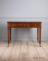 Fine Quality Late Regency Mahogany Library Table (3 of 8)