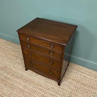 Edwardian Mahogany Small Antique Chest of Drawers (6 of 6)