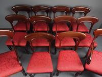 Set of 12 Scottish Mahogany Dining Chairs (12 of 18)