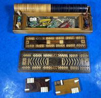 Victorian Pine Partially Fitted Games Box (6 of 32)