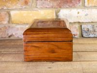 Figured Walnut Tunbridge Table Box 1880 (2 of 7)