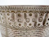 Georgian Silver Christening Mug with a Waisted and Globular Form (6 of 6)