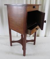 19th Century Georgian Mahogany Pot / Bedside Cupboard (4 of 13)