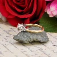 The Art Deco Brilliant Diamond Solitaire Ring (4 of 6)