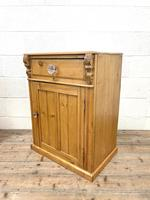 Two Similar Antique Pine Bedside Cupboards (4 of 10)