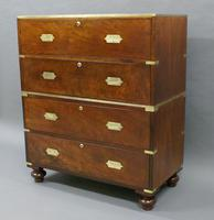 A Fine Military Campaign Chest of Drawers (6 of 6)