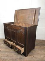 19th Century Welsh Oak Coffer Bach (M-550) (7 of 9)
