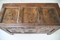 Antique 18th Century Oak Coffer (9 of 12)