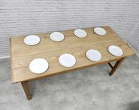 Large Farmhouse Pine Kitchen Table (7 of 9)