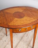 Sheraton Period Satinwood Pembroke Table (7 of 7)