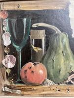Deborah Jones Signed Fruit Oil Painting (4 of 6)