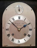 Oak Bracket Clock Supplied By Harrods (3 of 11)