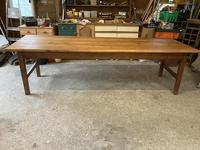 French Three Plank Cherry Wood Table (6 of 6)