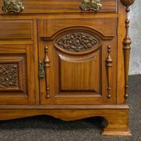 Late Victorian Mahogany Sideboard (10 of 19)