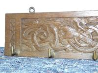 Iona Celtic Inspired Carved Panel (3 of 10)
