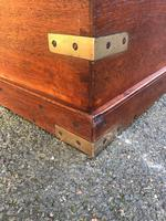 Antique Brass Bound Camphor Military Campaign Chest (5 of 11)