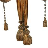 Large Carved Giltwood Wall Sconce (8 of 8)