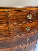 George III Bow Chest of Drawers (5 of 14)