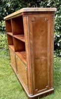 French Plum Pudding Mahogany Bookcase (4 of 8)