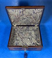 William IV Early Mosaic Tunbridge Ware Table Box (19 of 20)