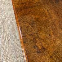 Magnificent Victorian Figured Walnut Antique Centre Table (4 of 7)