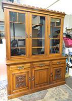 Arts & Crafts Oak Bookcase (2 of 8)