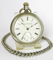 Antique Elgin G M Wheeler Pocket Watch, 1890 (2 of 4)