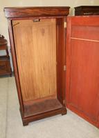 1900s Mahogany 1 Door Hall Wardrobe (3 of 4)