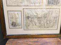Decorative Collection of 18th Century Sketches (8 of 9)