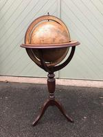 Library Terrestrial Globe on Stand