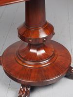 Antique William IV Rosewood Foldover Tea Table (11 of 12)