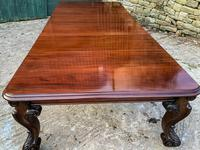 Very Large Victorian Extending Dining Table in Mahogany (12 of 17)