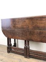 Early 18th Century Oak Gateleg Table (11 of 13)
