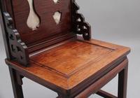 19th Century Chinese Hongmu Hardwood Occasional Chair (7 of 7)