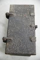 Antique Hinged Lid Strong Box (11 of 12)