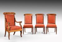 Fine Set of Eight William IV Period Chairs (3 of 3)