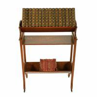 Edwardian Oak Book Trough (3 of 8)