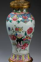 Pair of 19th Century Canton Porcelain Lamps (3 of 5)