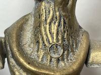 Victorian Brass Hunting Dog Fire Companion Set (22 of 40)