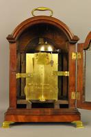 Fine Mahogany Verge Triple Pad Top Bracket Clock - Martineau, London (10 of 13)