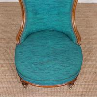 Tub Chair 19th Century Carved Mahogany (7 of 8)