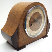 Art Deco Hat Shaped Mantel Clock – Striking 8-day Arched Top Mantle Clock (3 of 10)