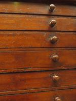 Antique Victorian Collectors Specimen Chest of Drawers (6 of 18)