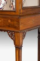 George III Style Mahogany China Cabinet (4 of 7)