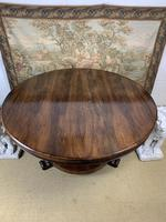 Large English Regency Rosewood Centre Table (6 of 6)